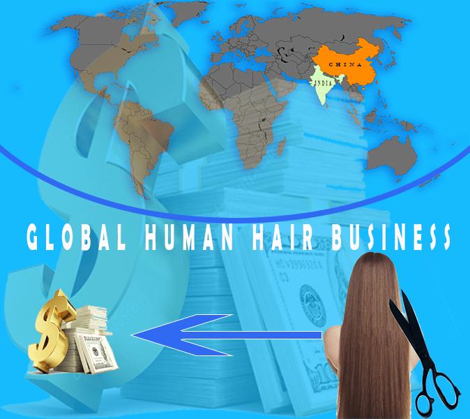human hair, human hair business, human hair trade, human hair manufacturer