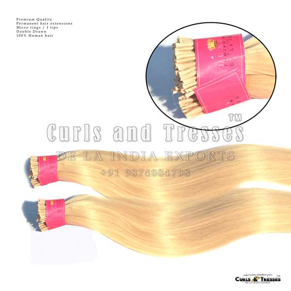 Micro ring hair extensions- i tip hair extensions- permanent hair extensions