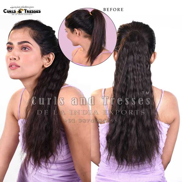 ponytail hair extensions in india, ponytail hair extensions in kolkata, ponytail hair extensions, curly ponytail hair extensions, Clip on hair extensions in india, seamless clip on hair extensions, hair extensions in india, virgin hair extensions in india, virgin hair extensions, virgin hair extensions in kolkata, human hair extensions in india, human hair extensions in kolkata, human hair extensions, hair extensions manufacturer in india, hair extension brands in india