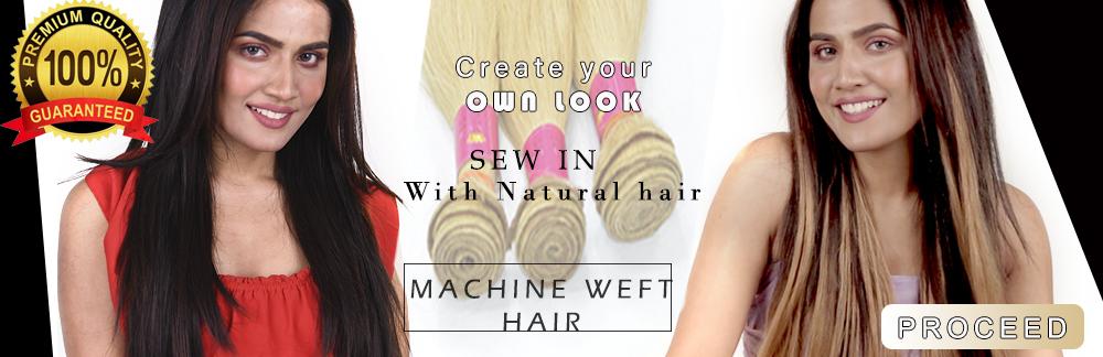 machine weft hair, raw hair, indian hair, blonde hair, Indian hair